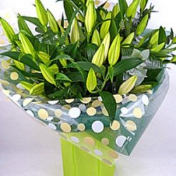 Large lily bouquet