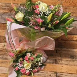 Mother and baby bouquet