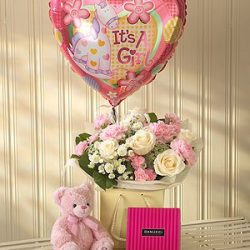 Baby Girl Bouquet Gift Set