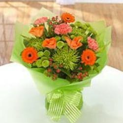 Lively birthday bouquet