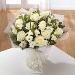 Wonderful in White Bouquet